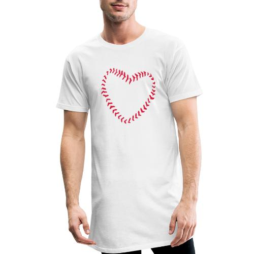 2581172 1029128891 Baseball Heart Of Seams - Men's Long Body Urban Tee