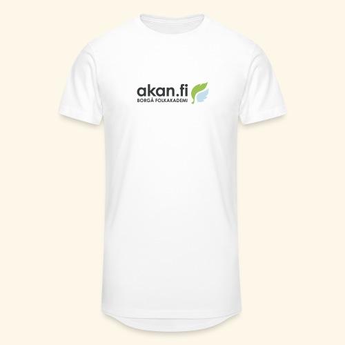 Akan Black - Urban lång T-shirt herr