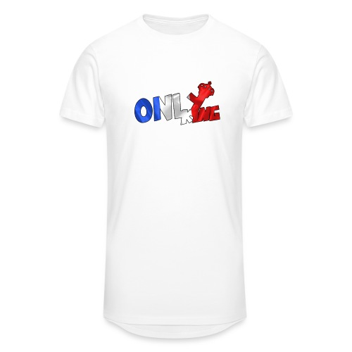Logo ONLY KING edition francaise - T-shirt long Homme