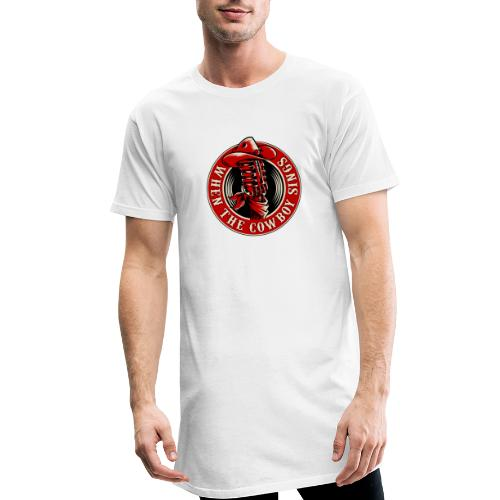 Logo when the cowboy sings - Camiseta urbana para hombre