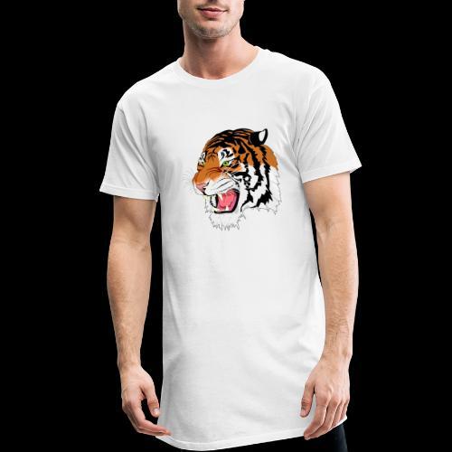 Sumatra Tiger - Männer Urban Longshirt