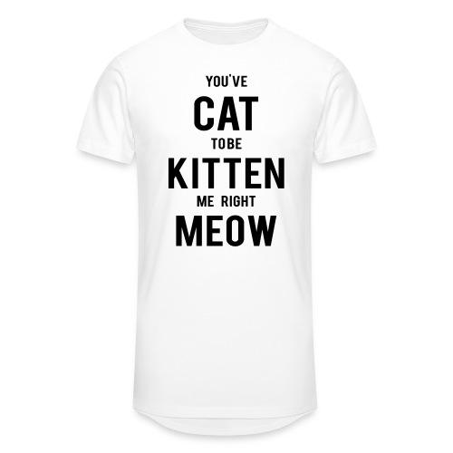CAT to be KITTEN me - Männer Urban Longshirt