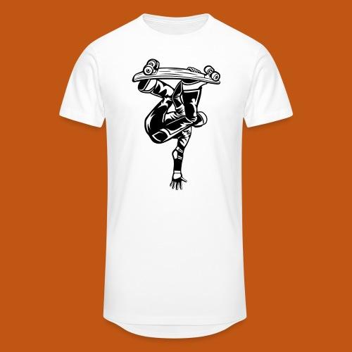 Skater / Skateboarder 03_schwarz weiß - Männer Urban Longshirt