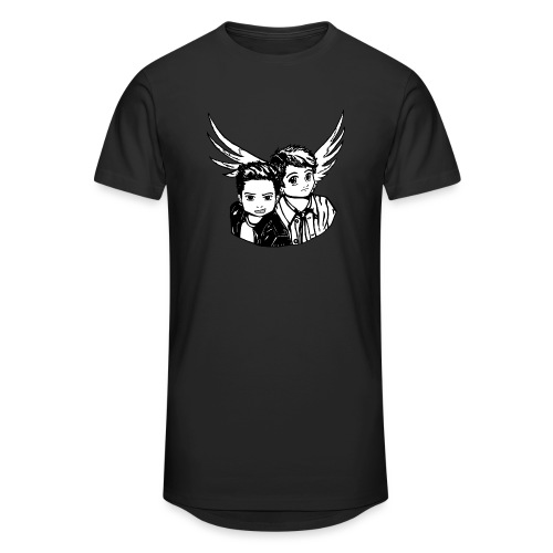 Destiel i sort/hvid - Herre Urban Longshirt