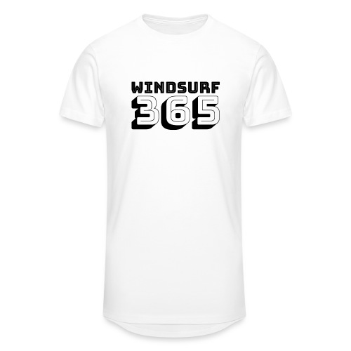 Windsurfing 365 - Men's Long Body Urban Tee