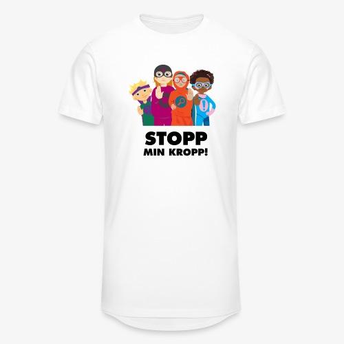 Stopp min kropp! - Urban lång T-shirt herr