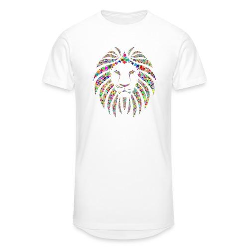 Ausdruck des Löwen - Männer Urban Longshirt