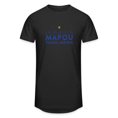 Mapou YANGA-MBIWA - T-shirt long Homme