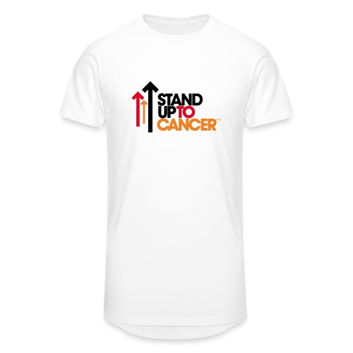 stand up to cancer logo - Men's Long Body Urban Tee