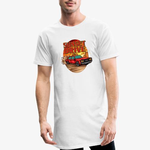 Sunset Drive - T-shirt long Homme