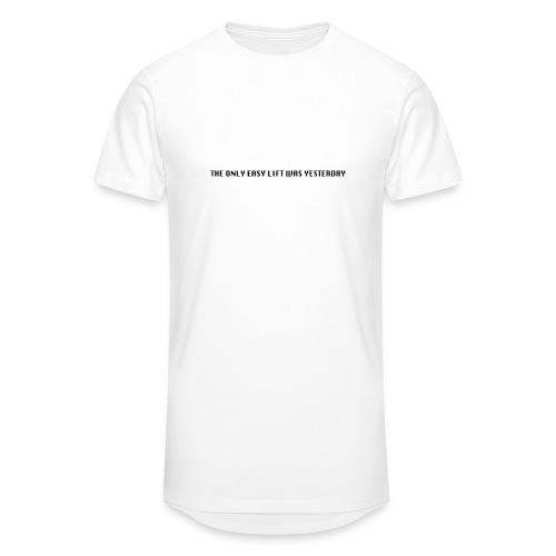 170106 LMY t shirt hinten png - Männer Urban Longshirt