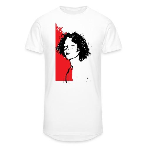 L'enfant rouge représente la terre rouge d'Afrique - T-shirt long Homme