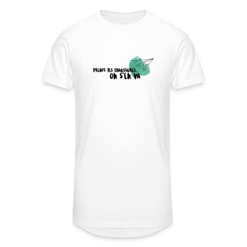 test - T-shirt long Homme