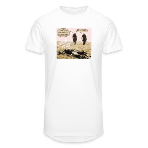 L'humour m'a tuer - T-shirt long Homme