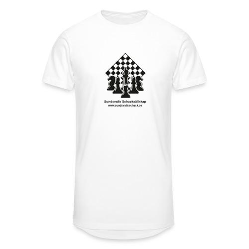 Sundsvalls Schacksällskap - Urban lång T-shirt herr