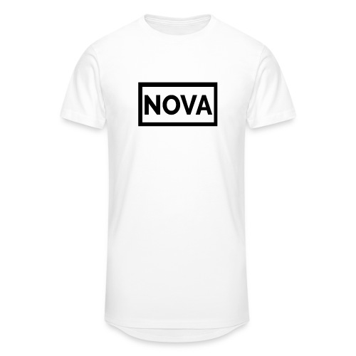 Red Nova Snapback - Men's Long Body Urban Tee