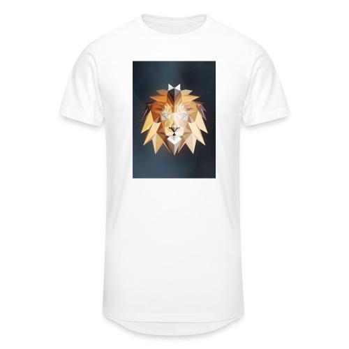 Polygon Lion - Männer Urban Longshirt