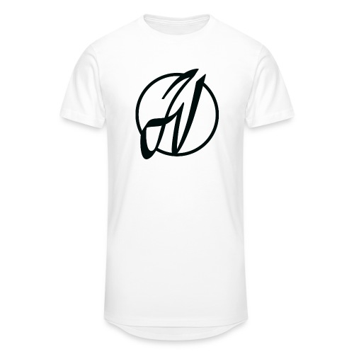 JV Guitars - logo noir - T-shirt long Homme