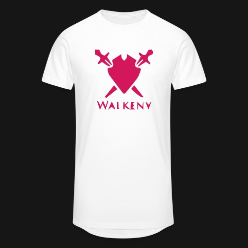 Das Walkeny Logo mit dem Schwert in PINK! - Männer Urban Longshirt