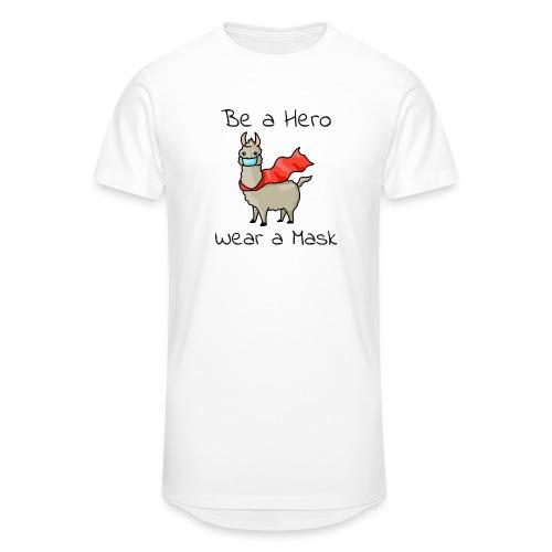 Sei ein Held, trag eine Maske! - Männer Urban Longshirt