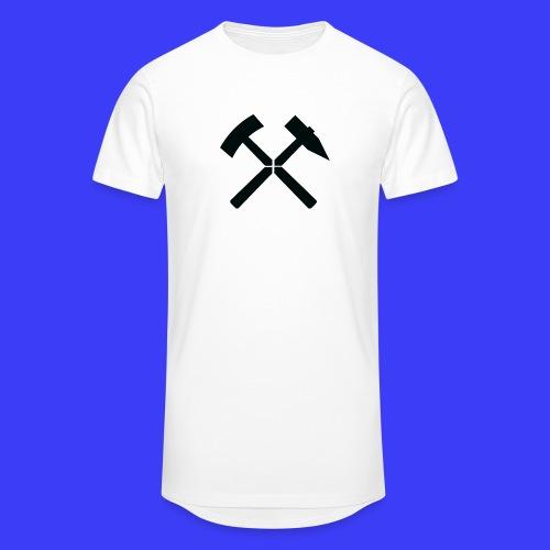 Pałki żelazne - Długa koszulka męska urban style