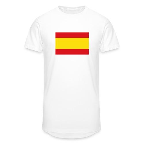 vlag van spanje - Mannen Urban longshirt