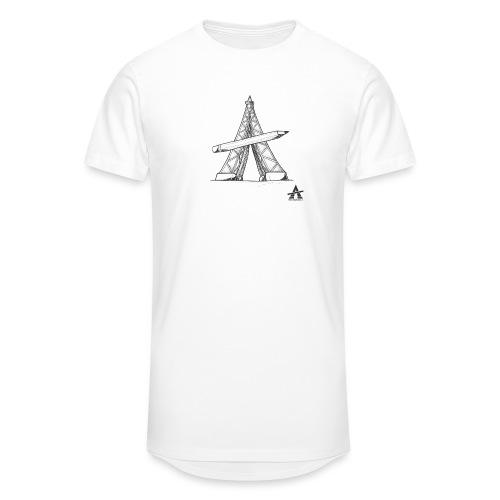 Tour Eiffel Crayon - T-shirt long Homme