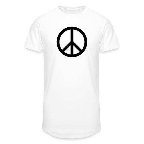 Peace Teken - Mannen Urban longshirt