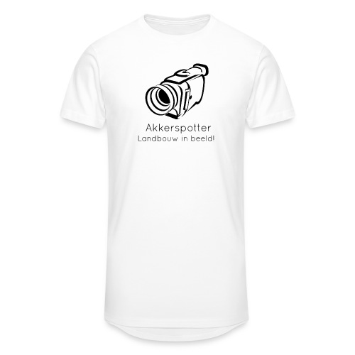 Logo akkerspotter - Mannen Urban longshirt