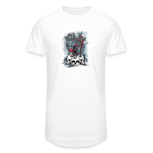 rock n roll skulls - Mannen Urban longshirt