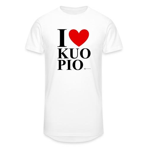 I LOVE KUOPIO ORIGINAL (musta) - Miesten urbaani pitkäpaita