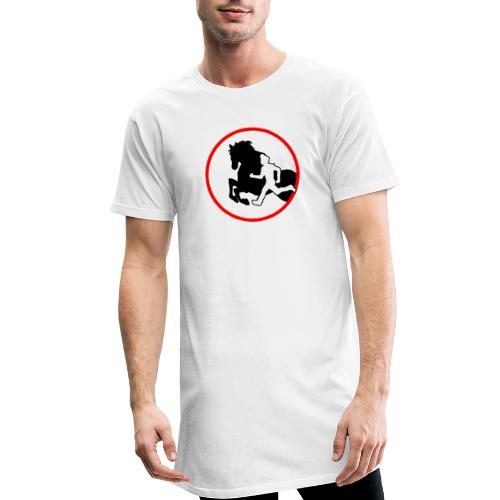 Horse Agility Logo - Männer Urban Longshirt