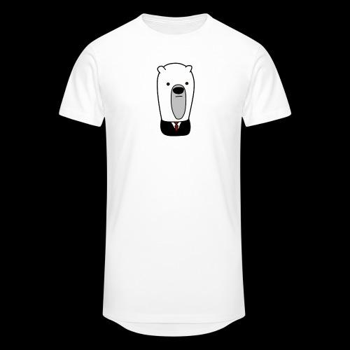 officel_polarbear_shop_logo - Herre Urban Longshirt