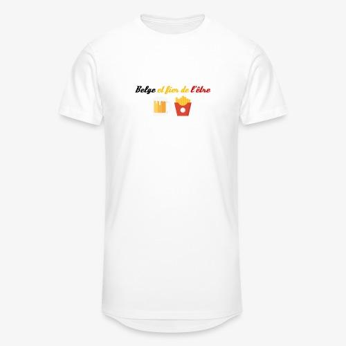 Belge et fier de l'être - T-shirt long Homme