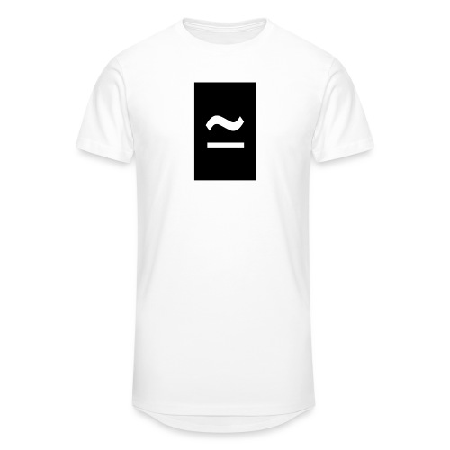 The Commercial Logo Black New - Men's Long Body Urban Tee