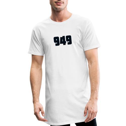 949black - Männer Urban Longshirt