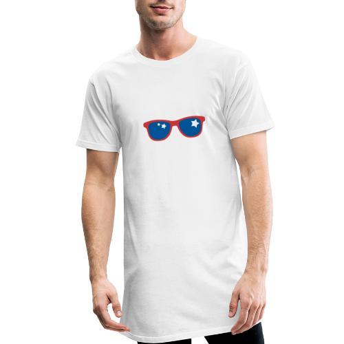 POP ART - Stars and glass - T-shirt long Homme
