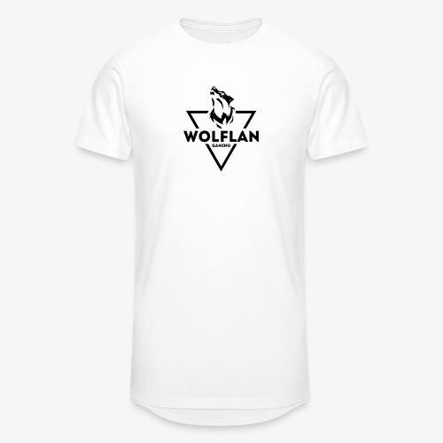 WolfLAN Gaming Logo Black - Men's Long Body Urban Tee