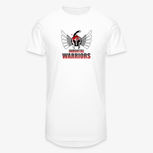 The Inmortal Warriors Team - Men's Long Body Urban Tee