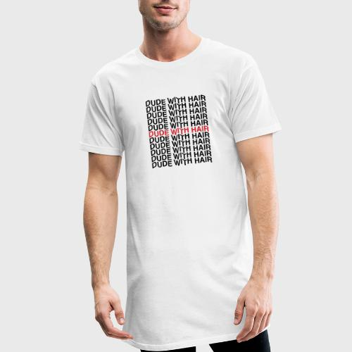 Dude With Hair Red Wave - Mannen Urban longshirt