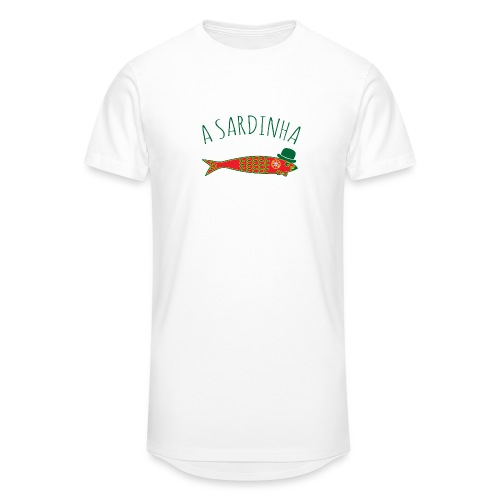 A Sardinha - Bandeira - T-shirt long Homme