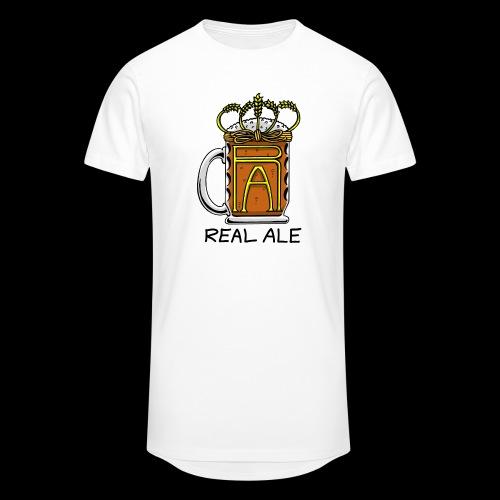 Real Ale - Men's Long Body Urban Tee