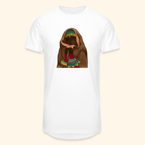 Femme bijou voile - T-shirt long Homme