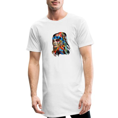 Pióra i pióropusze - Długa koszulka męska urban style