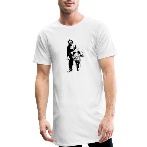 feskarn - Urban lang T-skjorte for menn