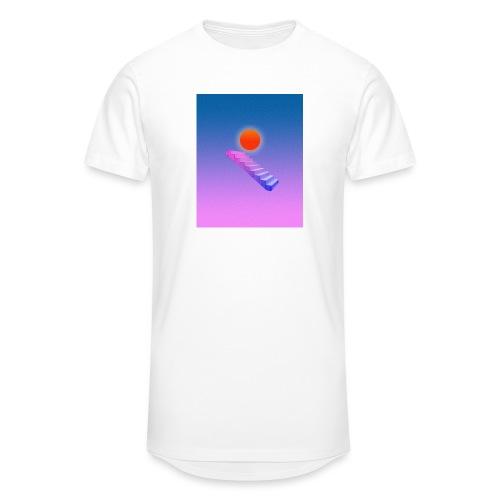 ESCALIER AU CIEL - T-shirt long Homme