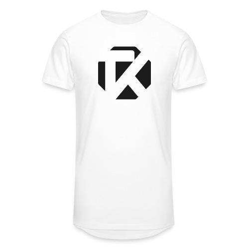 Logo TK Noir - T-shirt long Homme