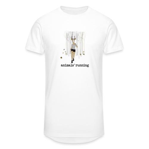 Antilope running - T-shirt long Homme