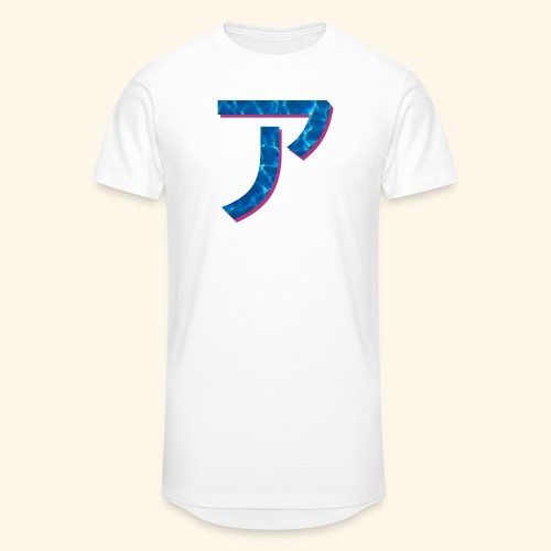 ア logo - T-shirt long Homme