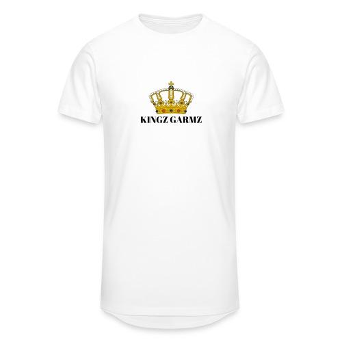 KINGZ GARMZ - Men's Long Body Urban Tee